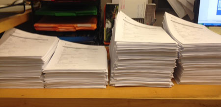 Stacks of applications