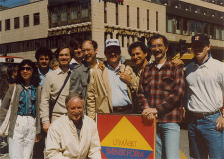 Polk and group 1988 sweden