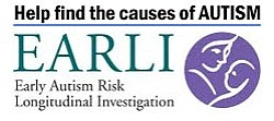 EARLI autism pregnancy study logo with text