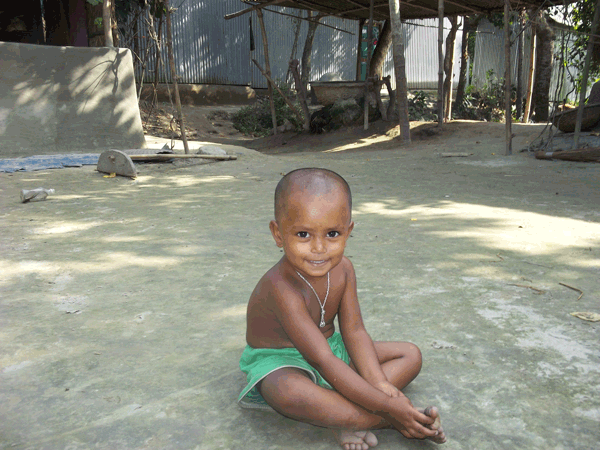 Child in Bangladesh study