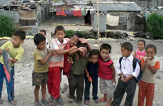 a group of Nepali children