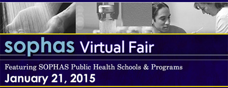 SOPHAS Virtual Fair - Jan 21 2015