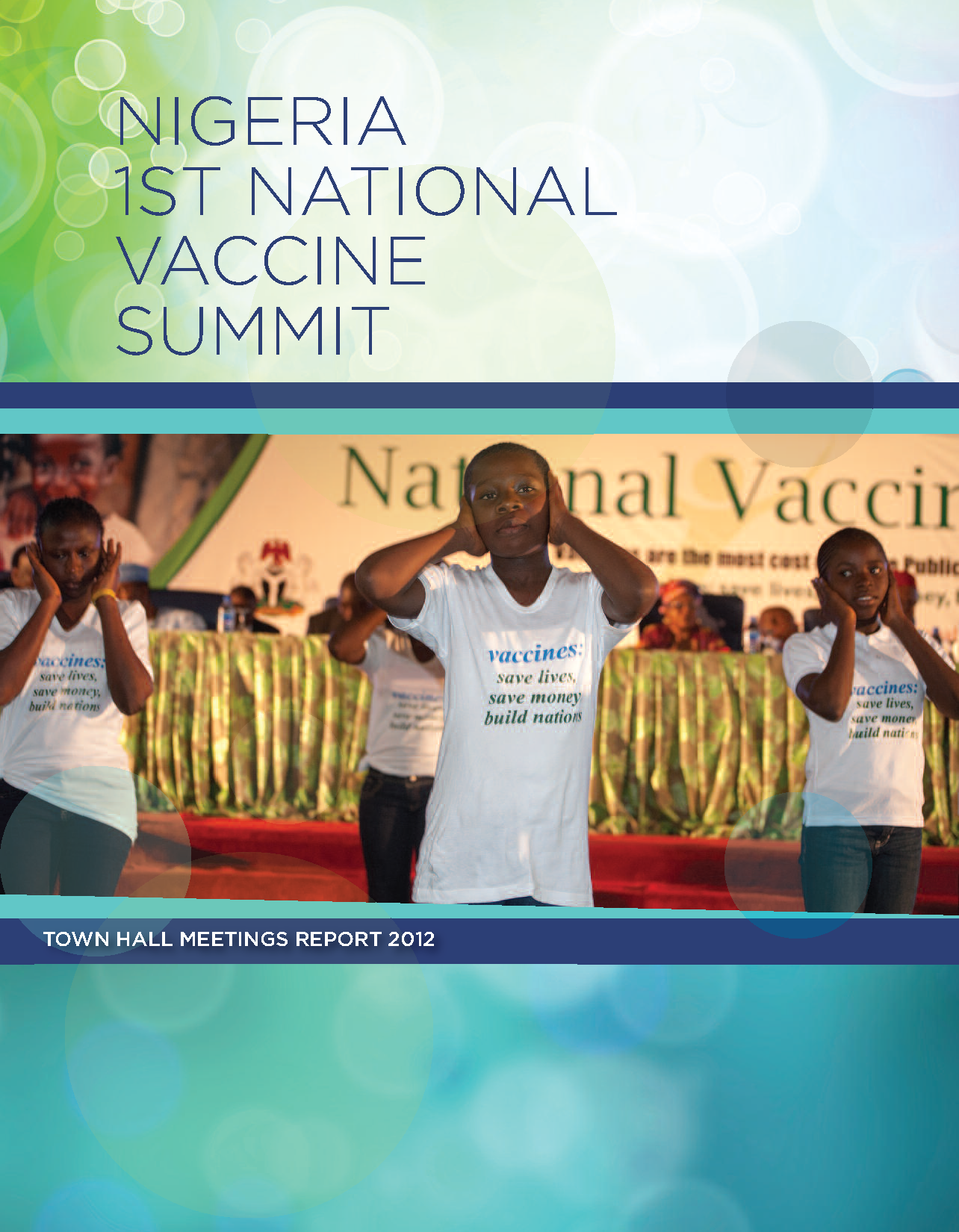 National Vaccine Summit Town Hall Report