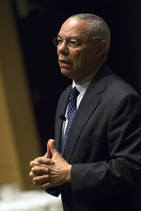 Colin Powell at JHSPH