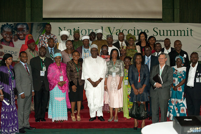 Leaders at Nigeria's National Vaccine Summit