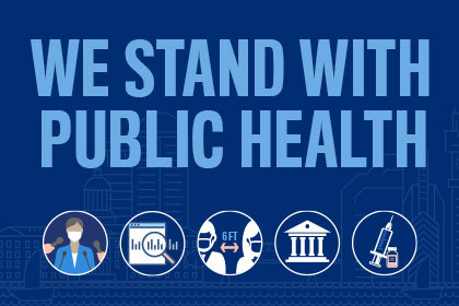 We Stand with Public Health