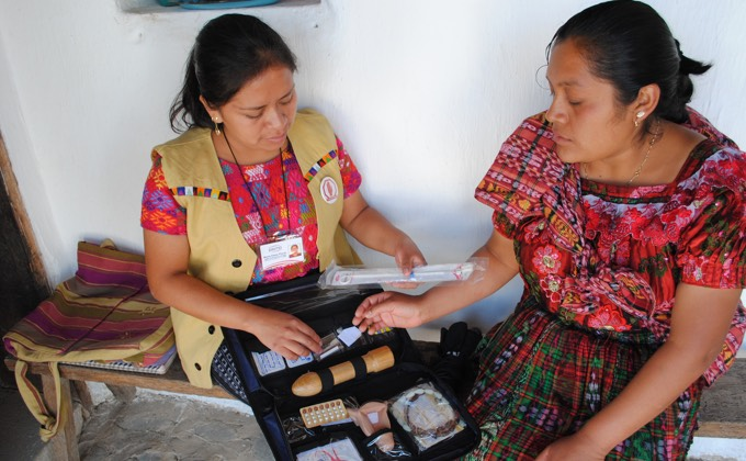 Family planning education in Guatemala
