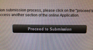Proceed to Submission button from the application