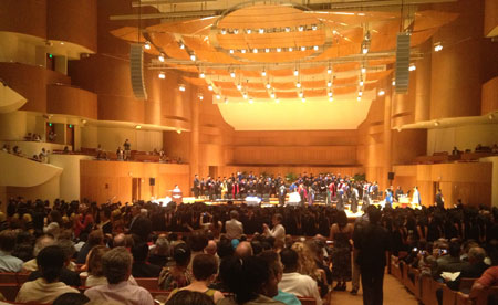 The Procession into the Meyerhoff