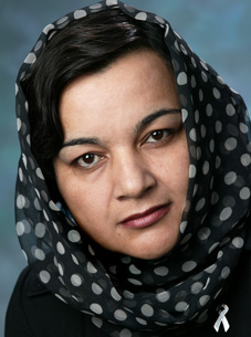Mehrafzoon Mehr Nesaar, director of Women's and Reproductive Health for Afghanistan