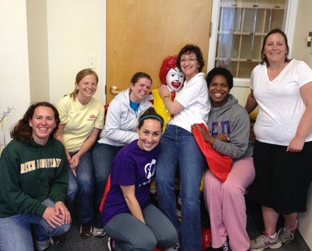 Admissions Group - Day of Service