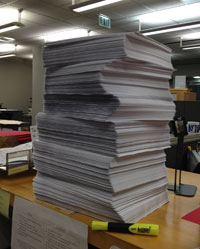 Tall stack of applications