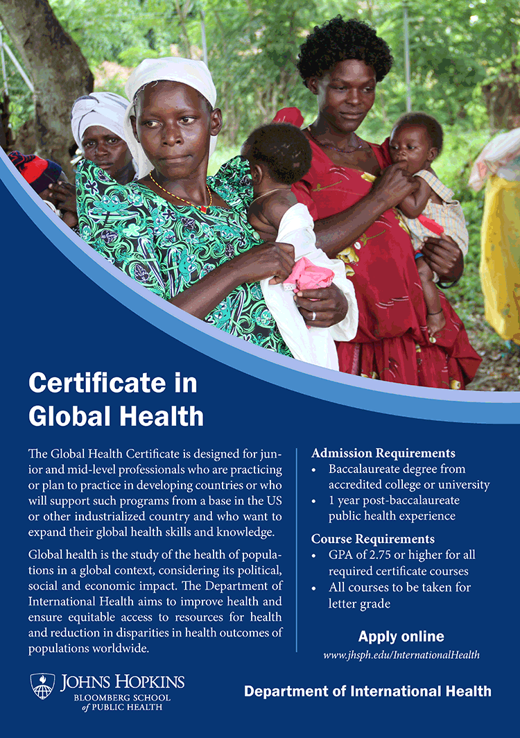 Global health certificates international health departments global health certificate flyer 1betcityfo Choice Image