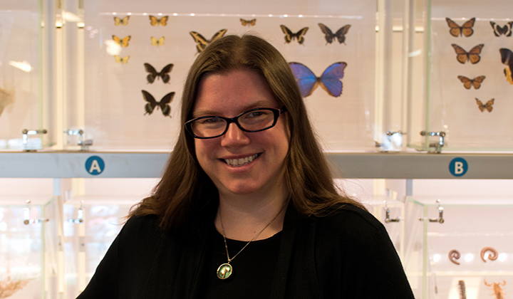 Sarah Studer at National Museum of Natural History