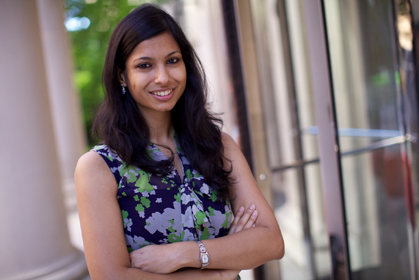 MPH student selected for Hopkins-Pulitzer fellowship