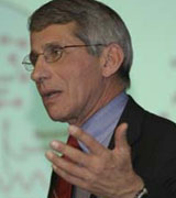 Anthony Fauci at the Bloomberg School